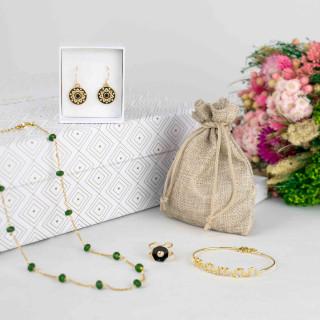 Coffret Bijoux Fête des mères - Doré
