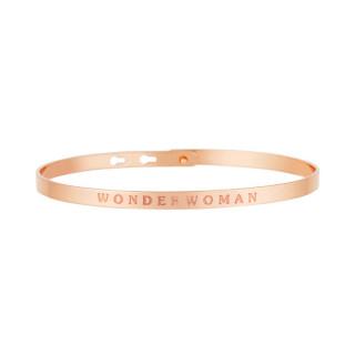 WONDERWOMAN Jonc rosé bracelet à message