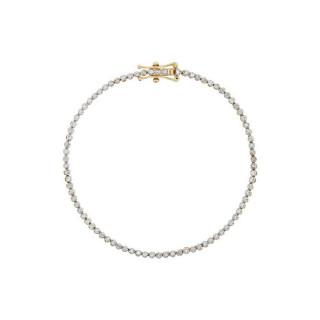 Bracelet Or Jaune et Diamant