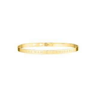 UNE MAMIE FORMIDABLE bracelet jonc doré à message