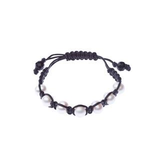 Bracelet perles de culture blanches Sensation 7