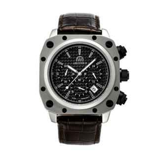 Montre Chronowatch Airzone II Quartz  Noir Bracelet Cuir - HW5180C1BC2