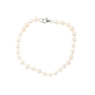 Bracelet argent et perles de culture blanches Comtesse