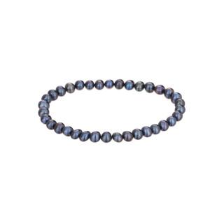 Bracelet perles de culture noires Diva