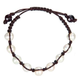 Bracelet perles de culture blanches Sensations 9