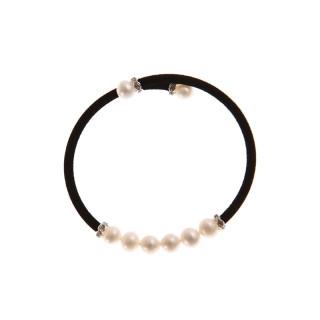 Bracelet argent et perles de culture blanches Magique