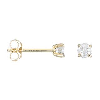 Boucles d'oreilles Or Jaune et Diamants 0,50 carat MA PUCE