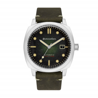 Montre Spinnaker HULL Automatique  - Cadran Vert - SP-5059-03