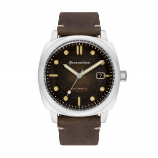 Montre Spinnaker HULL Automatique  - Cadran Marron - SP-5059-02