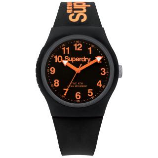 Montre unisexe Superdry Urban cadran noir - SYG164B