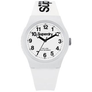 Montre unisexe Superdry Urban cadran blanc - SYG164WW