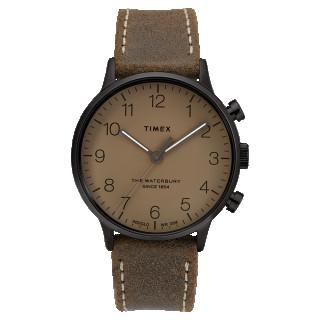 Montre Homme Timex WATERBURY CLASSIC en cuir taupe