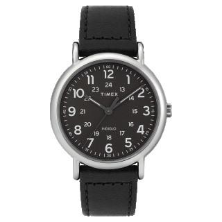 Montre Homme Timex Weekender Boîtier 40mm en Acier Cadran INDIGLO® Noir - TW2T30700