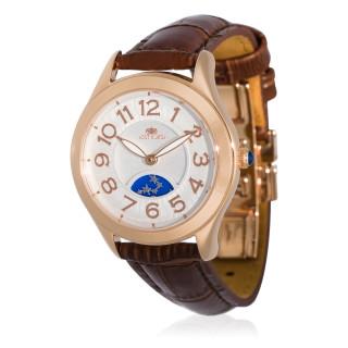 Montre Jost Burgi STELLA bracelet cuir - HB4A13C3BC2