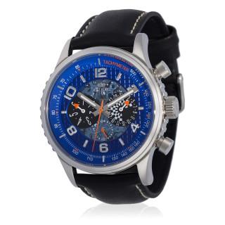 Montre Jost Burgi RACING bracelet cuir - HB4A60C4BC1