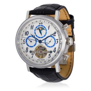 Montre Jost Burgi MILLESIME bracelet cuir - HB4A90C3bBC1