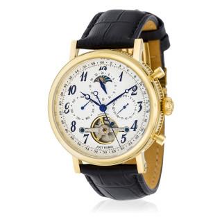 Montre Jost Burgi MILLESIME bracelet cuir - HB4A92C2BC1