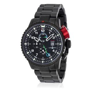 Montre Jost Burgi MACH 0.72 Edition limitée bracelet métal - HB4AV1C1BM2
