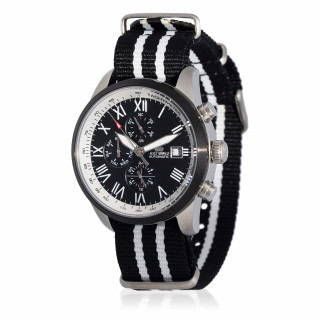 Montre Jost Burgi LEGENDE bracelet tissu - HB4B61C1BN5