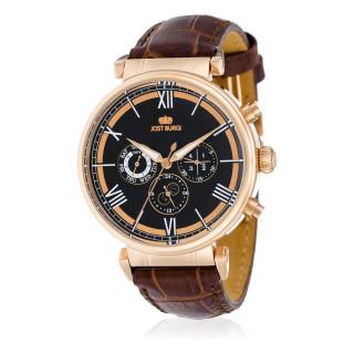 Montre Jost Burgi ONDURA 1950 bracelet cuir - HB4C23C5BC2