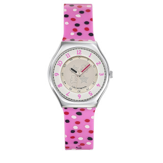 Montre Fille LuluCastagnette Mini Star  bracelet multicolore - 38707