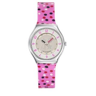 Montre Fille LuluCastagnette Mini Star  bracelet multicolore - 38707