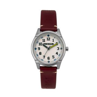 Montre Garçon Freegun Varial Bracelet en cuir rouge - EE5260