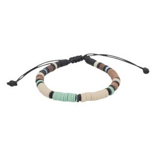 Bracelet Homme ajustable pierres multicolores COLORED