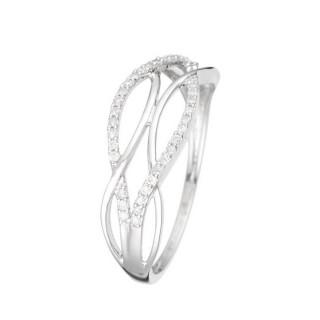 Bague Or Blanc 375 ZOHRA Diamants 0,11 carats
