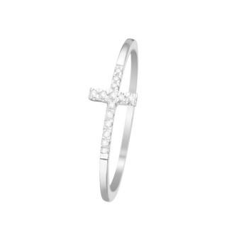 Bague Christiane Or blanc et Diamants