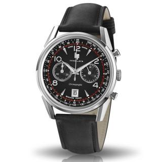 Montre homme LIP HIMALAYA 40 chronographe noir - 671592