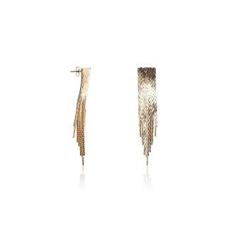 Boucles d'oreilles Ethnique CASCADE AMBRÉE