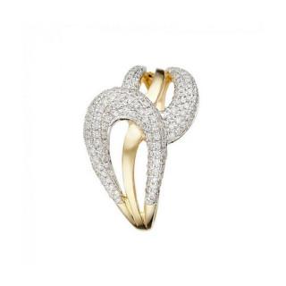 Bague Or Jaune CUPIDON Diamants 0,42 carat