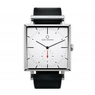 Montre Homme Carl Edmond GRANIT Blanc G3451-B21 34 mm - Mouvement Suisse