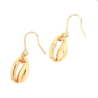 Boucles d'oreilles Bohème dorée