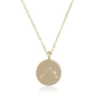 Collier médaille constellation BELIER
