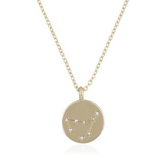 Collier médaille constellation CAPRICORNE