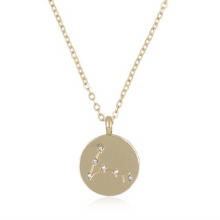 Collier médaille constellation POISSON