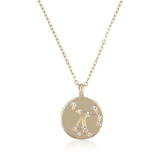 Collier médaille constellation SAGITTAIRE