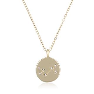 Collier médaille constellation SCORPION