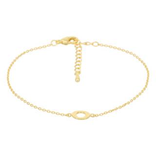 Bracelet Lettre O Doré