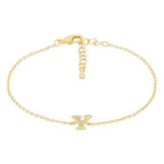 Bracelet Lettre Y Doré