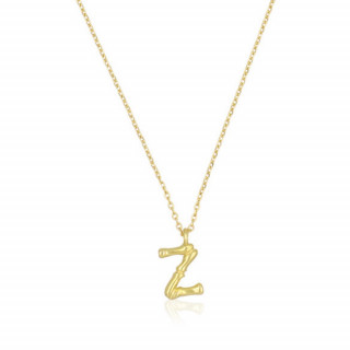 Collier Lettre Z Bambou