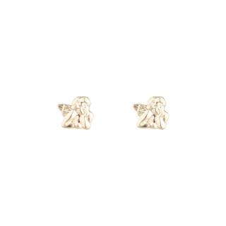 Boucles d'oreilles enfant Or jaune 375/1000