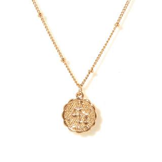 Collier médaille astrologique BALANCE