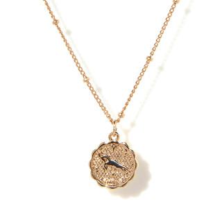 Collier médaille astrologique BELIER