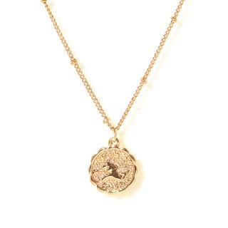 Collier médaille astrologique CAPRICORNE