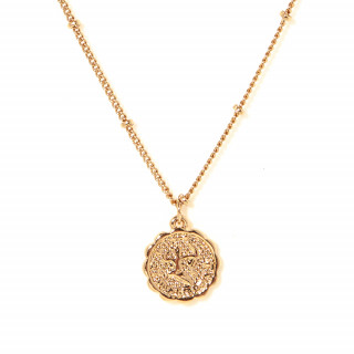 Collier médaille astrologique SAGITTAIRE
