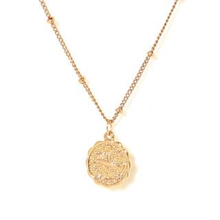 Collier médaille astrologique SCORPION