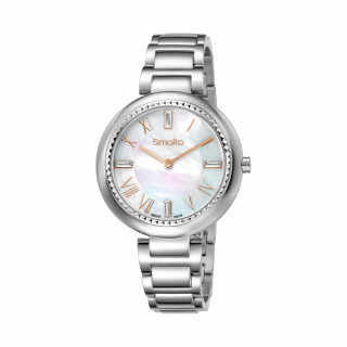 Montre Femme Smalto cadran nacre - bracelet métal - 35 mm